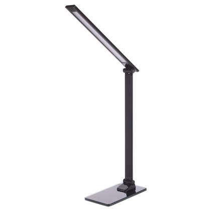 Лампа настольная светодиодная Gloss 7 Вт цвет черный цена