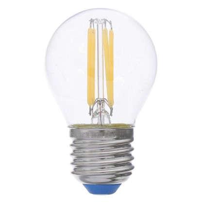 Светодиодная лампа филаментная Airdim форма шар E27 5 Вт 500 Лм свет холодный цена