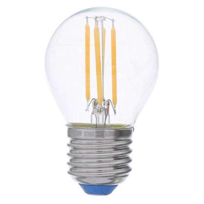 Светодиодная лампа филаментная Airdim форма шар E27 5 Вт 500 Лм свет теплый