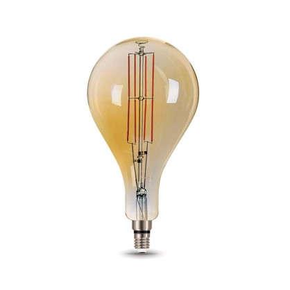 Лампа светодиодная Gauss Е27 8 Вт груша прямой свет теплый