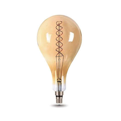 Лампа светодиодная Gauss Е27 8 Вт груша спираль свет теплый
