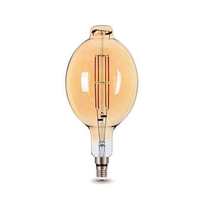 Лампа светодиодная Gauss Е27 8 Вт овал прямой свет теплый цена