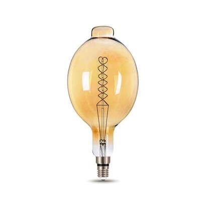 Лампа светодиодная Gauss Е27 8 Вт овал спираль свет теплый