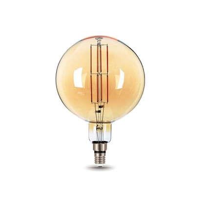 Лампа светодиодная Gauss Е27 8 Вт шар прямой свет теплый цена