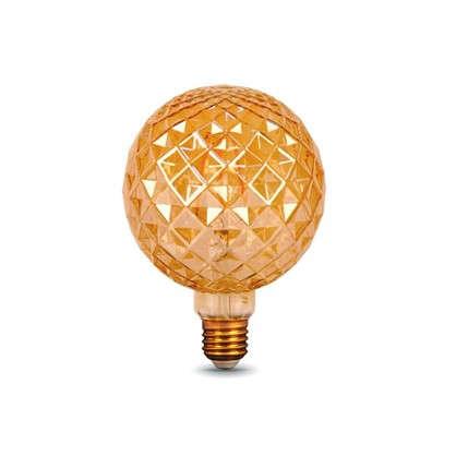 Лампа светодиодная Gauss Filament Carat E27 4 Вт 380 Лм свет теплый белый цена