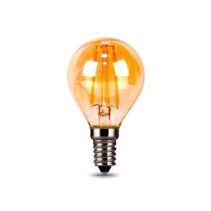 Лампа светодиодная Gauss Filament Globe E14 5 Вт 400 Лм свет теплый белый цена