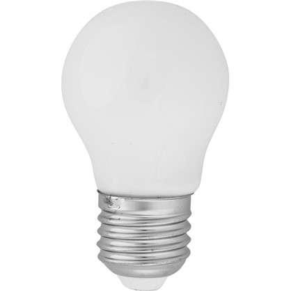 Светодиодная лампа Lexman E27 45 Вт 470 Лм 2700 K свет теплый белый матовая колба цена