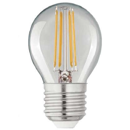 Светодиодная лампа Lexman E27 45 Вт 470 Лм 4000 K свет нейтральный прозрачная колба цена