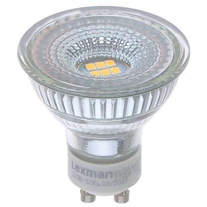 Светодиодная лампа Lexman GU10 5 Вт 460 Лм 2700 K свет теплый белый цена