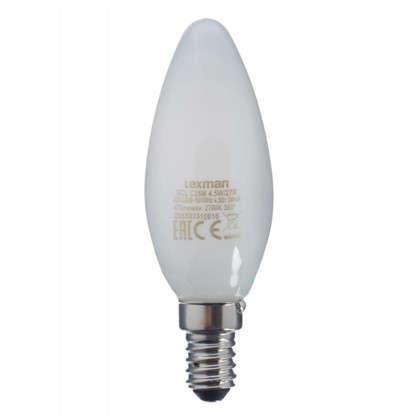 Светодиодная лампа Lexman Свеча E14 4.5 Вт 470 Лм свет теплый белый цена