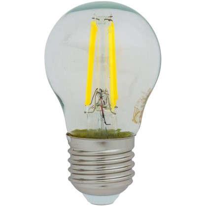 Светодиодная лампа Osram E27 220 В 5 Вт шар 3 м² свет холодный белый цена