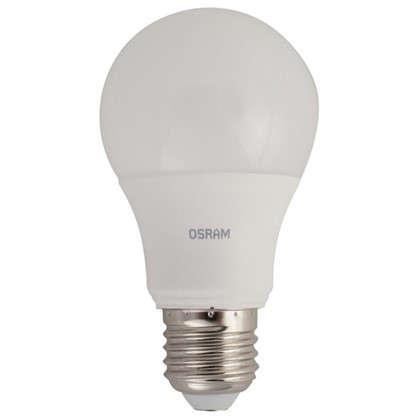 Светодиодная лампа Osram шар E27 9.5 Вт 806 Лм свет холодный белый цена