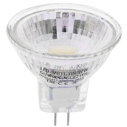 Светодиодная лампа Uniel GU4 3 Вт 200 Лм свет теплый белый цена