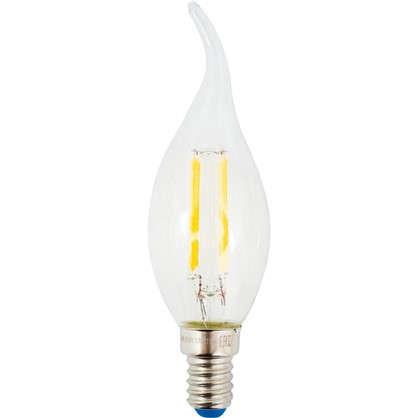 Светодиодная лампа Uniel свеча на ветру E14 6 Вт 500 Лм свет холодный цена