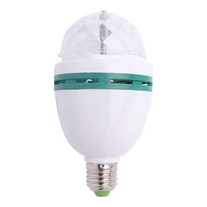 Лампа светодиодная Volpe Disco E27 3 Вт свет RGB цена
