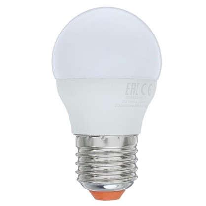 Светодиодная лампа Wolta шар E27 8 Вт свет нейтральный белый 5 шт. цена
