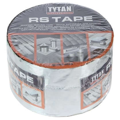 Лента битумная для кровли Tytan Professional RS Tape 10 см х 10 м цена
