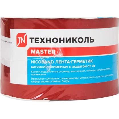 Лента-герметик Никобенд 10х01 м цвет красный