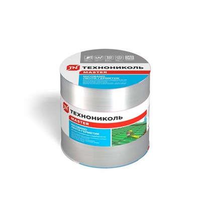 Лента-герметик Никобенд 10х015 м цвет серебро цена