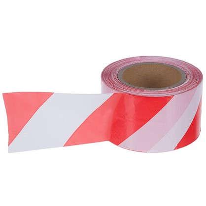 Лента оградительная 250 м цвет красно-белый цена