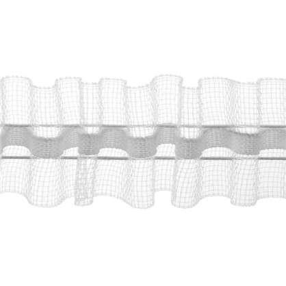 Шторная лента 250 мм цвет прозрачный цена