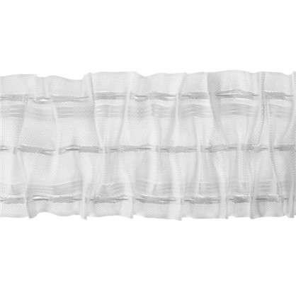 Шторная лента 750 мм цвет прозрачный/матовый цена