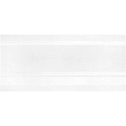 Шторная лента бантовая 54 мм цвет белый цена