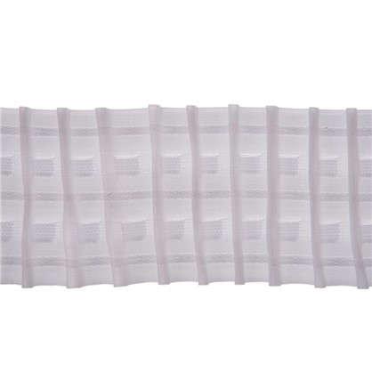 Шторная лента параллельная 65 мм 65 мм цвет белый цена