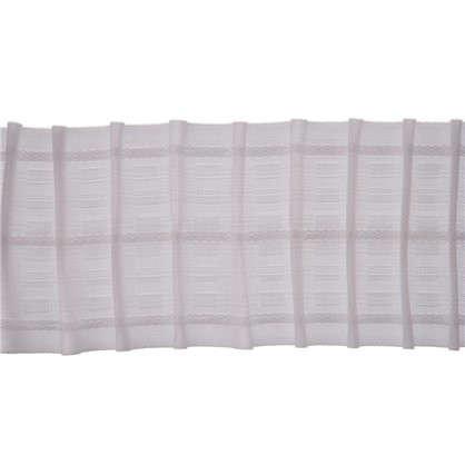 Шторная лента параллельная 67 мм цвет белый цена