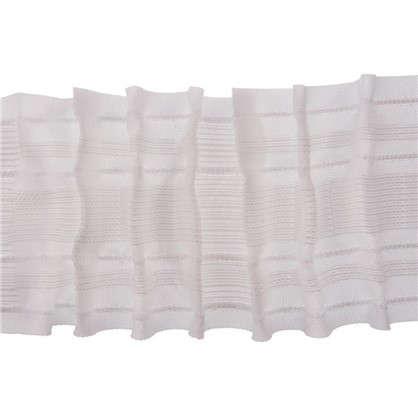 Шторная лента параллельная многофункциональная 80 мм цвет белый цена