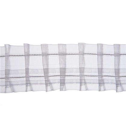 Шторная лента Placido с карандашными складками 50 мм цвет прозрачный цена