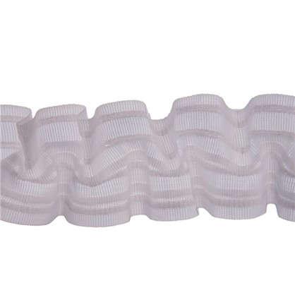 Шторная лента вафельная 62 мм цвет белый цена