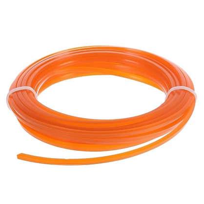 Леска для триммера Sterwins 3 мм х 7 м квадратная цвет оранжевый цена