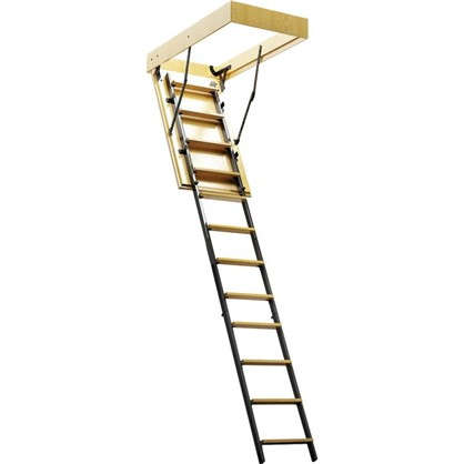Лестница чердачная комбинированная 70х80x265 см