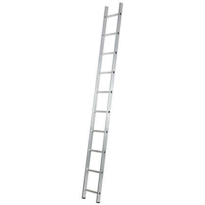 Лестница приставная односекционная Standers 10 ступеней цена