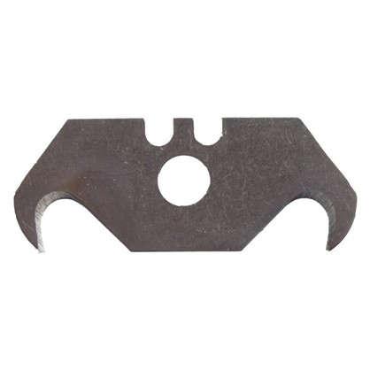 Лезвия для ножа трапециевидные Brigadier крючкообразные 5 шт. цена