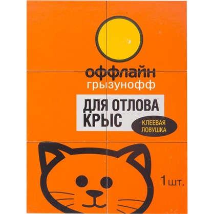 Ловушка картонная клеевая от крыс Оффлайн цена