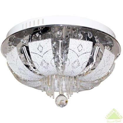 Люстра Пари 4xE14x60 Вт LED металл/стекло цвет хром цена