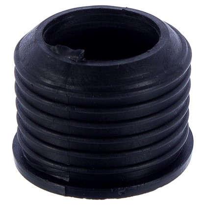 Манжета переходная D32х40 черная трехлепестковая