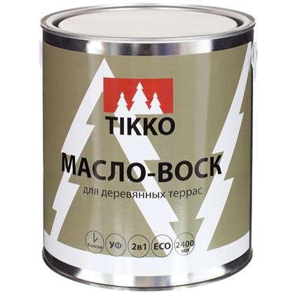 Масло для наружных работ Tikko глянец 2.4 л цена