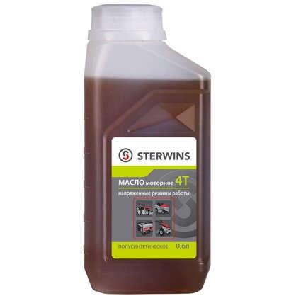 Масло моторное 4Т для напряжённых режимов Sterwins 10W40 полусинтетика 0.6 л цена