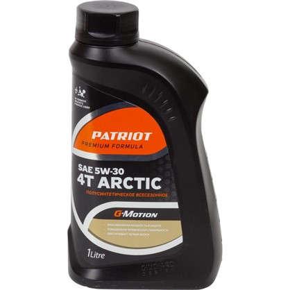 Масло моторное для четырехтактных двигателей G-motion Arctic полусинтетическое 1 л цена