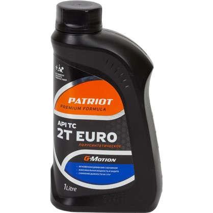 Масло моторное для двухтактных двигателей G-motion Euro полусинтетическое 1 л цена