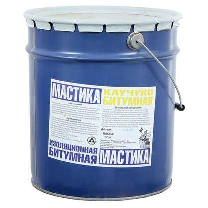 Мастика битумная каучуковая 20 л цена