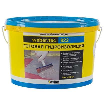Мастика для гидроизоляции Weber Vetonit Weber.Tec 822 цвет серый цена