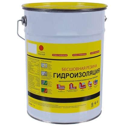 Мастика гидроизоляционная Топколор 7 л цвет красный цена