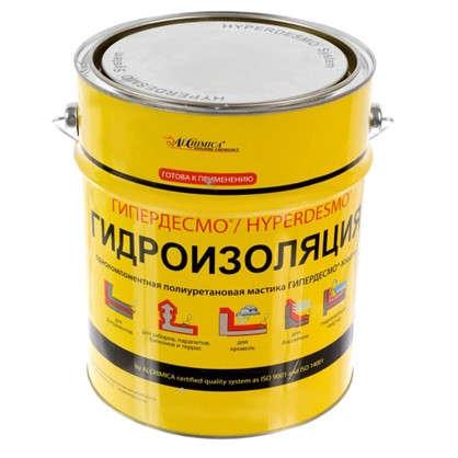Мастика полиуретановая Alchimica Гипердесмо Классик 6 кг цвет серый цена