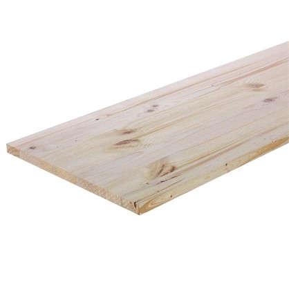 Мебельный щит 1600х300х18 мм хвоя сорт В