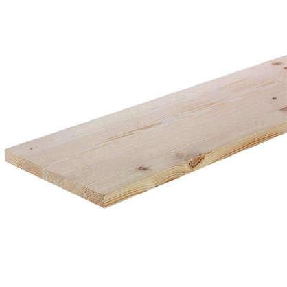 Мебельный щит 2500х200х18 мм хвоя сорт A/B