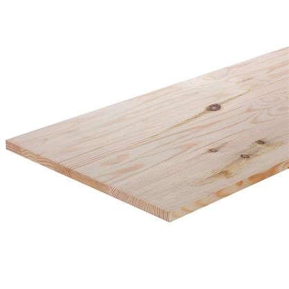 Мебельный щит 2500х400х18 хвоя сорт A/B